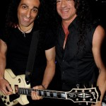 Tzan Nikko and Vince Contarino Backstage
